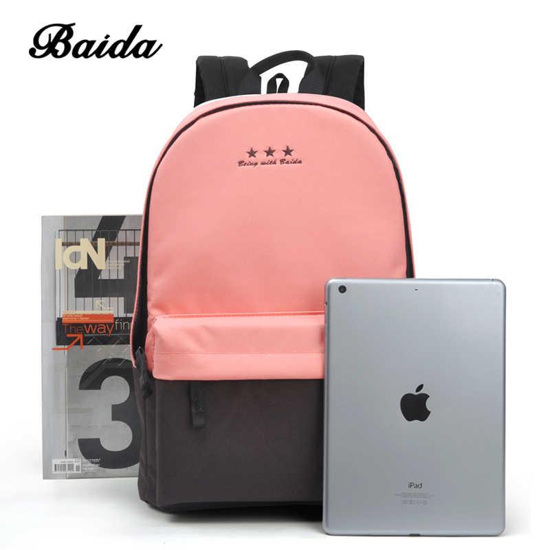 3953e9229c9e ... Мода рюкзак Для женщин детей школьный рюкзак для отдыха корейские  женские рюкзак для ноутбука Дорожные сумки ...