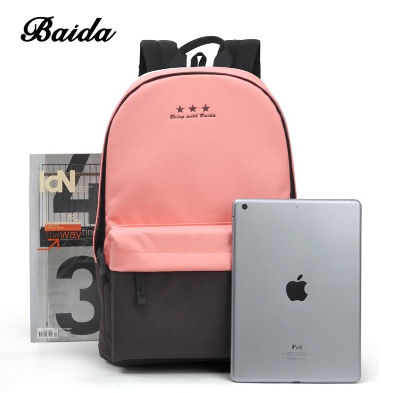 mochila mochila de lazer coreano Marca : Baida