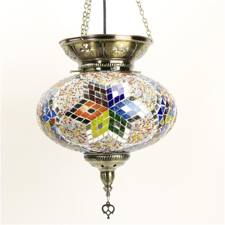 Новейший стиль, индейка, этнические таможни, мозаичная лампа ручной работы, романтическая лампа для кафе, ресторана, бара, дерева, подвесной