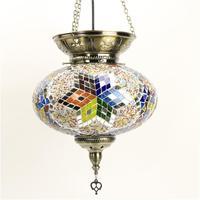 Mais novo stytle Turquia costumes étnicos handmade Mosaico lâmpada romântico café restaurante bar da árvore de luz Pingente lâmpada bar Pingente|Luzes de pendentes| |  -