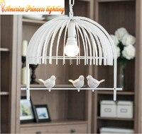 Modern Minimalist Restaurant Lights Led The First Single Aisle Creative Bird Chandelier Lighting Material Iron AC110
