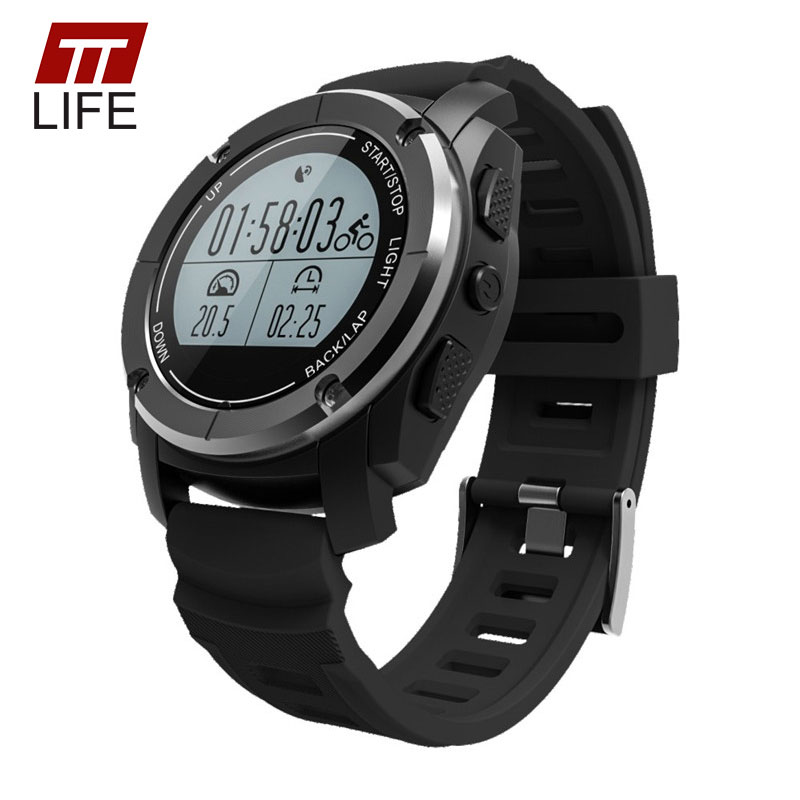 TTLIFE S928 GPS Tracker Watch Waterproof Heart Rate Monitor Speed Sport Watches Women Outdoor Fitness Monitor Men Wristwatch bryton rider 530t gps computer dual sensor heart rate monitor ant speed cadence