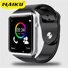 WristWatch A1 Bluetooth Smart Watch Men Sport Pedometer With SIM Camera Smartwatch For Android Smartphone Russia T15 good thanY1