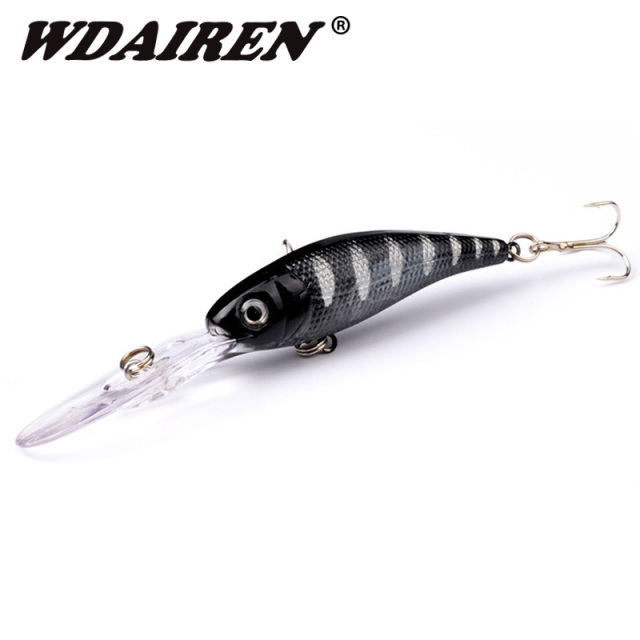 1Pcs Minnow Fishing Lure 10cm 7.5g Laser Sinking Slowly Wobblers Fishing Artificial Hard Bait Carp Bass Crankbait Fishing Tackle