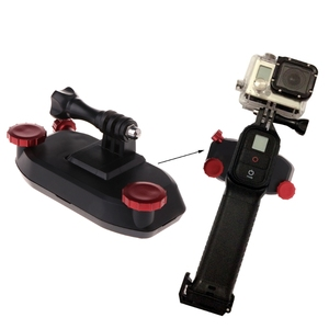 Image 2 - Quick Release Backpack Waist Belt Button Mount Buckle Clip Adapter For GoPro Hero 6/5/4/3+/3 Session For Xiaoyi For SJCAM