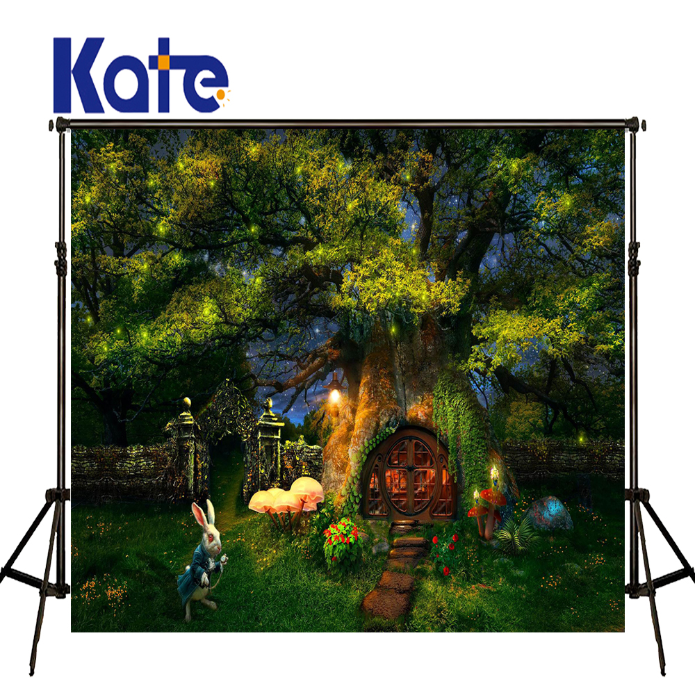 KATE Scenery Photography Background Fairy Tale Forest Background Children Backdrop Spring Photos for Photos studio shoot сумка kate spade new york wkru2816 kate spade hanna