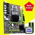 Компьютер DIY совершенно новая материнская плата HUANANZHI скидка X58 Pro Материнская плата с процессором Intel Xeon X5690 RAM (2*8G) 16G DDR3 REG ECC