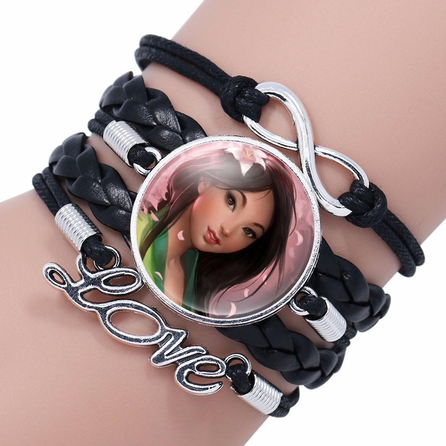 Elsa Anna Princess Infinity Love Bracelet