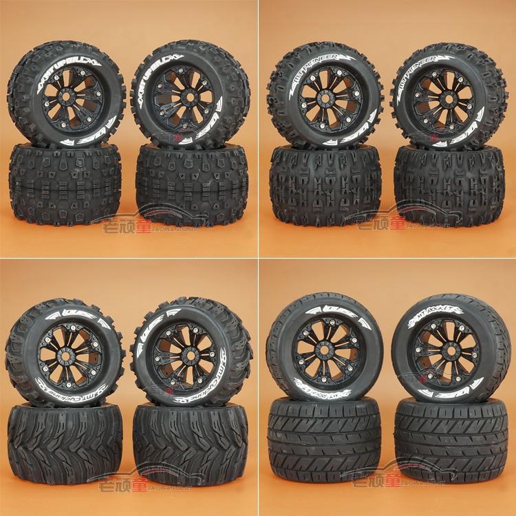 4PCS L-T3217BH L-3218BH L-3219BH for RC Car A variety of styles 1/8 Bigfoot tire Wear-resisting E/S/F/E63III General-purpose 3218 18 1 3 nicd 3218 4