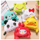 Cute Animal Hand Towels for Baby Bath Hand Dry Towel Kids Children Microfiber Towel for Kitchen Quick-drying Hanging Hand Towels