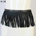 Женская мода шутник контракт заслуживают того, чтобы играть роль танец живота юбка пояс черный кисточкой цепи K071
