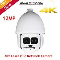 DH PTZ сети Камера SD6AL830V HNI 4 К 30x Лазерная PTZ сети Камера 12 мегапикселей Поддержка Hi PoE ИК расстояние до 500 м