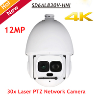 DH PTZ Network Camera SD6AL830V HNI 4K 30x Laser PTZ Network Camera 12 Megapixel Support Hi PoE IR distance up to 500m