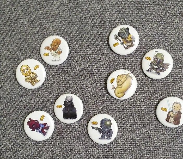 180PCS Avengers Superhero Mario Cartoon 30mm Runde Abzeichen Kleidung/Tasche/Hüte Decor Broschen Kid Party Geschenk zubehör Tasten-in Broschen aus Schmuck und Accessoires bei  Gruppe 3