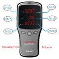 CH2O detector Medidor de Poeira PM2.5 PM10 Tolueno formaldeído TVOC detector de qualidade do ar Em Casa de proteção para as mulheres grávidas crianças