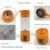 YFW 5200 mAh Carregador Portátil 400 ML Garrafa de Água Copo de Frutas Vegetais Liquidificador Espremedor Multifuncional máquina de Suco Elétrico Ferramentas de Banco de Potência