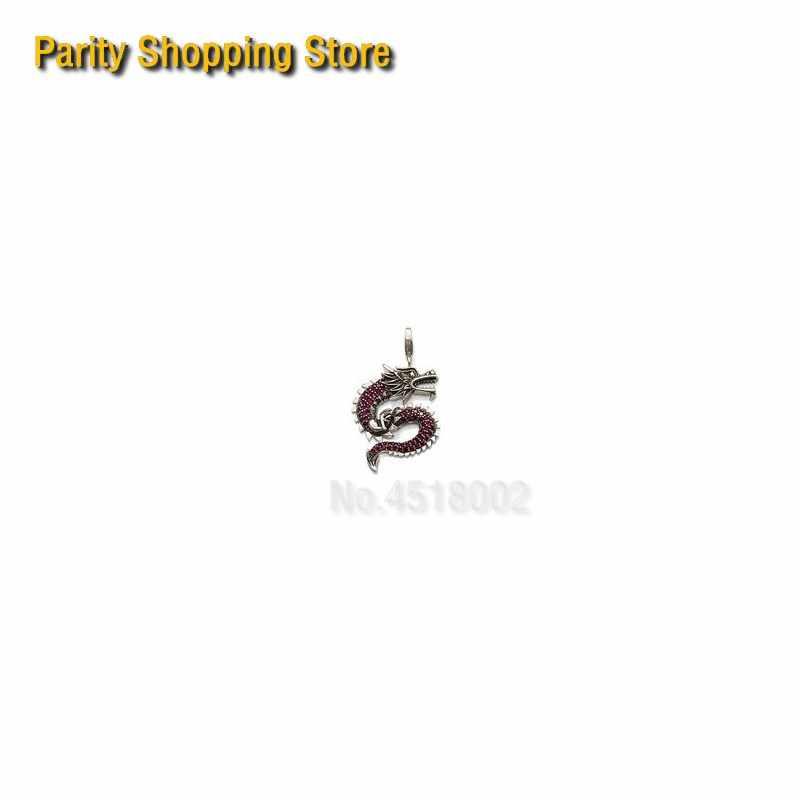 PT1201 Dragon Bedels In verzilverde Fit Bag Armband Stijl Goede Sieraden China Stijl Glam En Soul Mode-sieraden voor Vrouwen