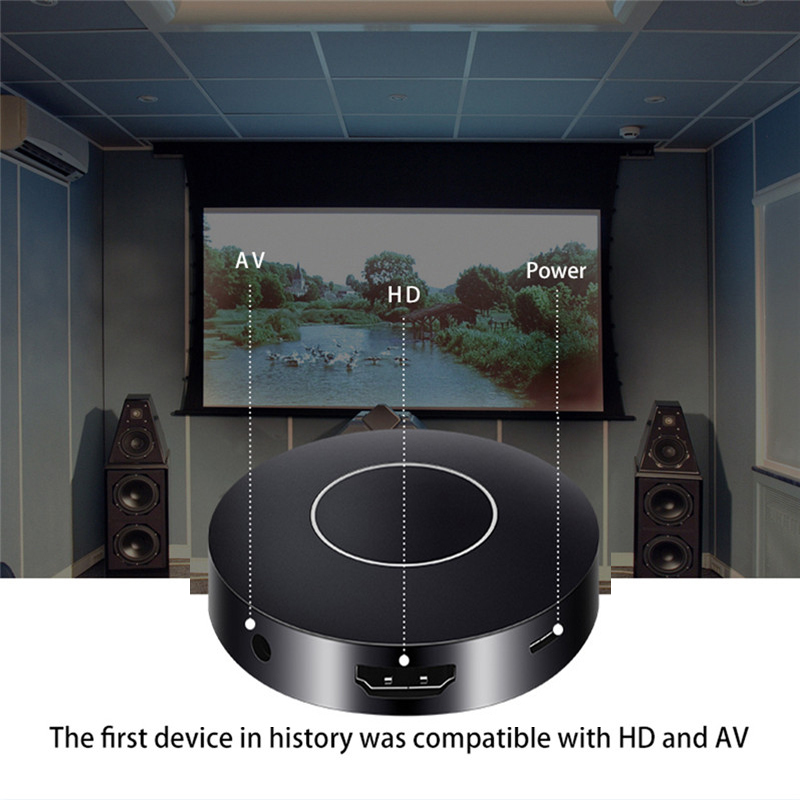 HDMI + AV WIFI Display Wireless Mirroring DONGLE Airplay Mirror Support DLNA Miracast HD 1080P TV Box Adapter for IOS Android mirabox vga hdmi wifi display for ios android windows 10 mac os airplay miracast dlna vga hdmi wifi display with ir controller