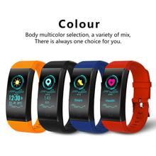 QW18 цветной экран Умные браслеты мульти-спорт IP67 Водонепроницаемый Bluetooth умный Браслет пульсометр Монитор артериального давления