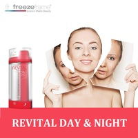 Freezeframe Face Solutions Revital Day Night Cream Anti Aging Anti wrinkle CC Cream Long Term Instant Results for Youthful Skin