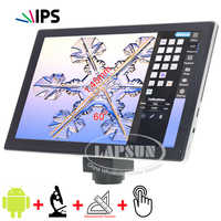 9.7 inches IPS 2048*1536 Retinal Screen Touch Screen Android Pad Measuring function + C-mount 5.0MP Digital Microscope Camera