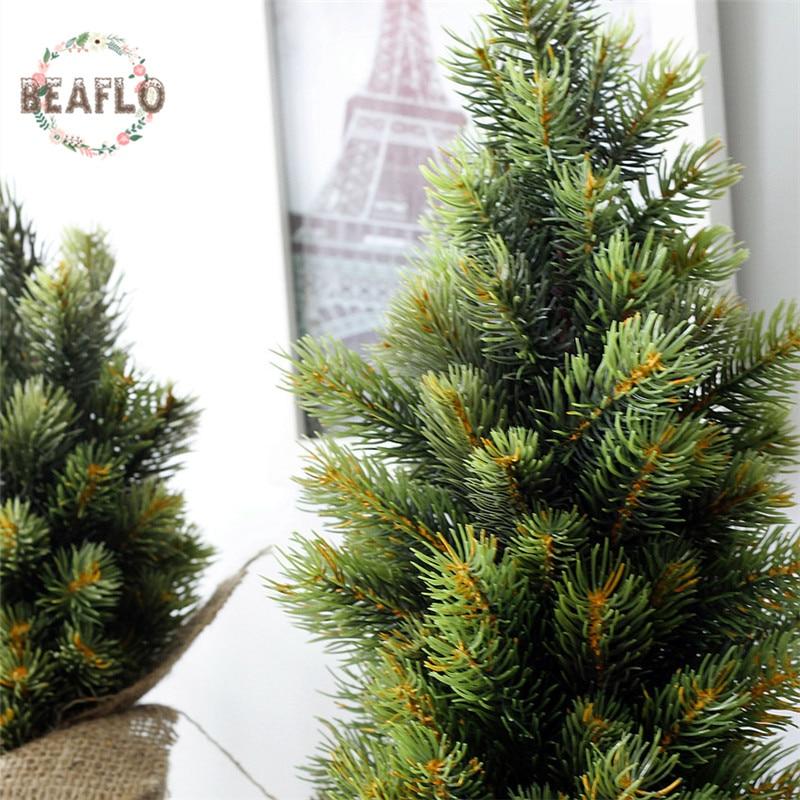 1Set Μίνι πράσινο τεχνητό φυτό - Προϊόντα για τις διακοπές και τα κόμματα - Φωτογραφία 4