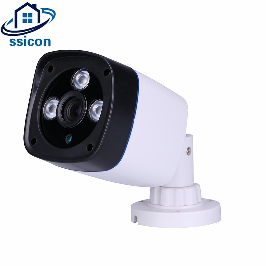 SSICON SONY323 Sensor 2MP AHD/CVI/TVI/CVBS 4 IN 1 CCTV Camera 3.6mm Lens CMOS 2000TVL Security Camera With OSD Menu 4 in 1 ahd camera 720p 1080p hd cctv dome cvi tvi camera cvbs night vision cmos 2000tvl hybrid camera security osd menu switch