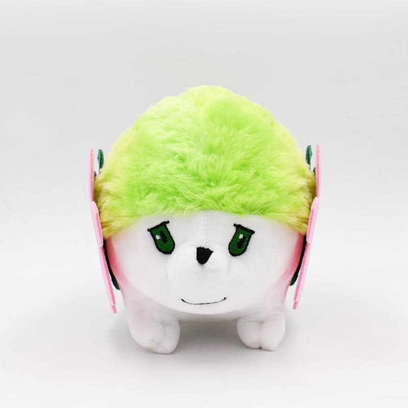 2018 Free Shipping Shaymin Plush Dolls 20cm Plush Toys Cartoon Stuffed Animals Toys Soft Christmas Toys Best Gift Free Shipping