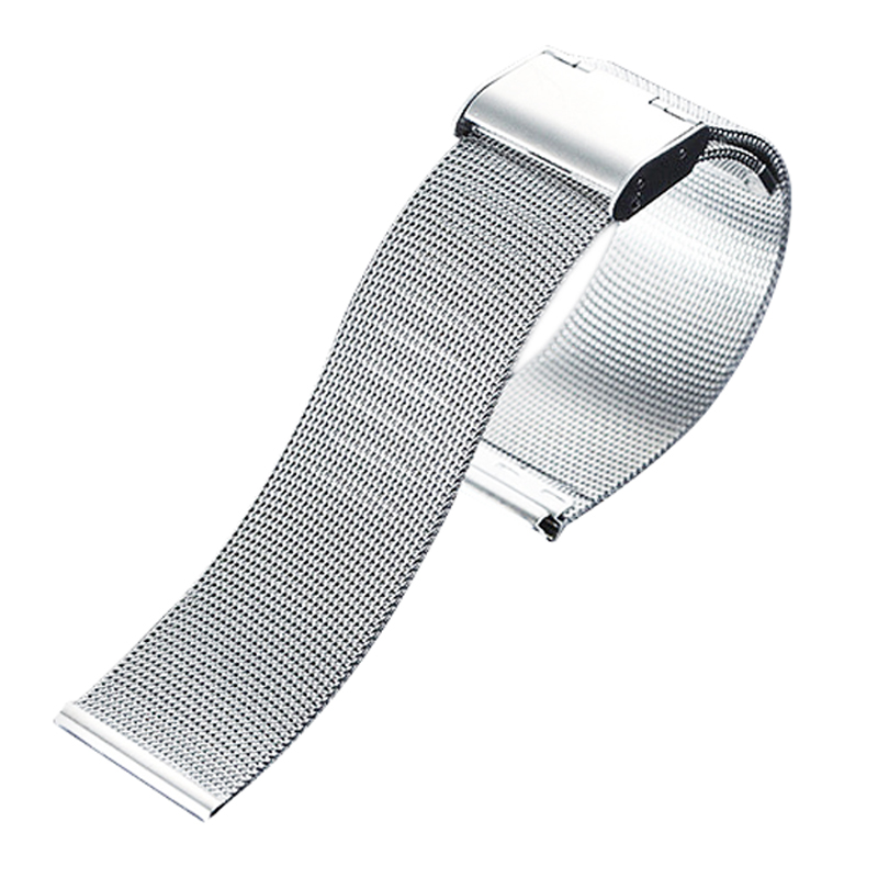 2017 Fashion Stainless Steel Wristwatch Band Mesh Shape Watch Belt In Common Use 14mm 16mm 18mm