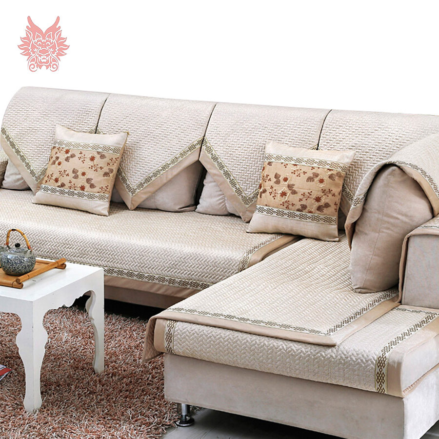 europe classic style grey champagne quilting sofa cover cotton quilted slipcovers canape sofa. Black Bedroom Furniture Sets. Home Design Ideas