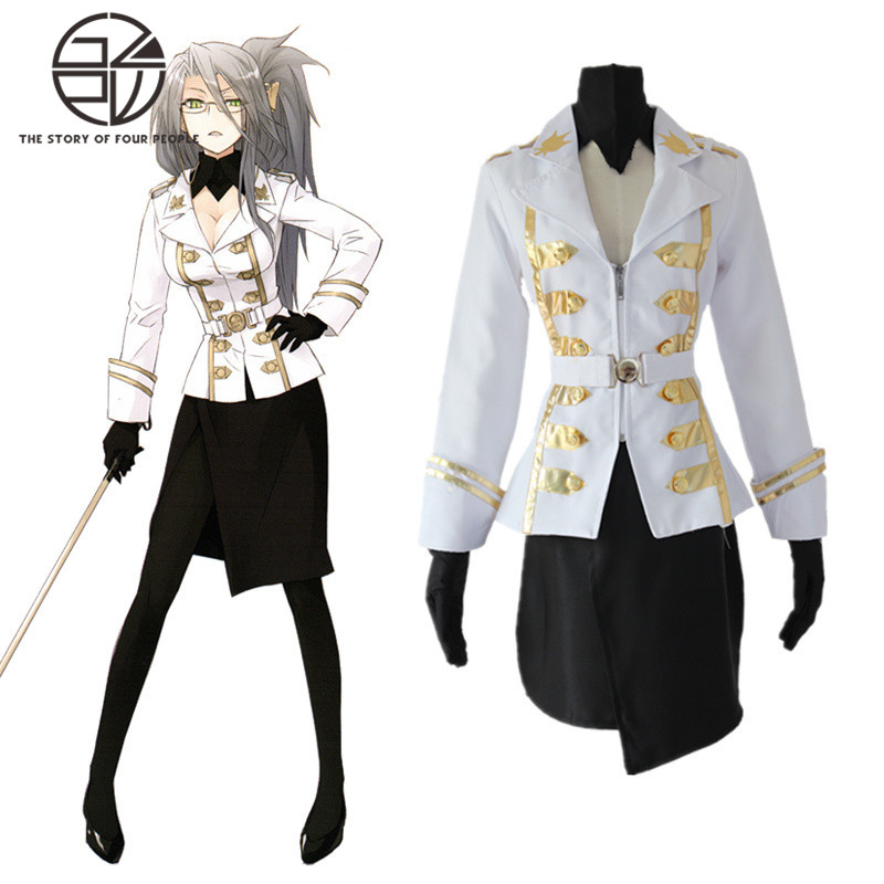 Fate / Apocrypha Celenike Icecream Yggdmillennia Uniform Cosplay Costumes / Stay Night Full Set Fancy Party Dress S-XL