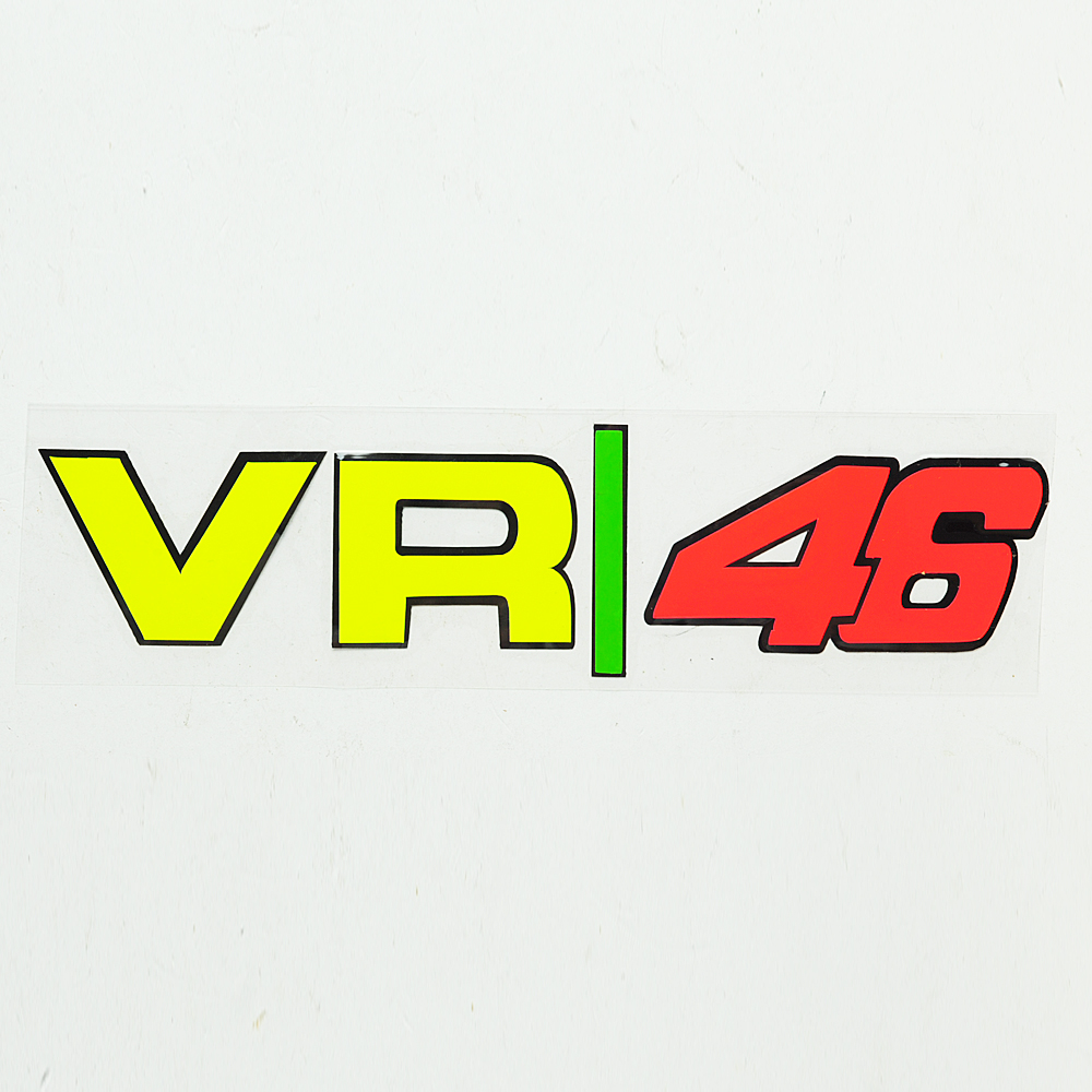 1 pcs Motorcycle VR46 Reflective Sticker Helmet stickers Motocross Moto case for Yamaha Honda Suzuki Kawasaki