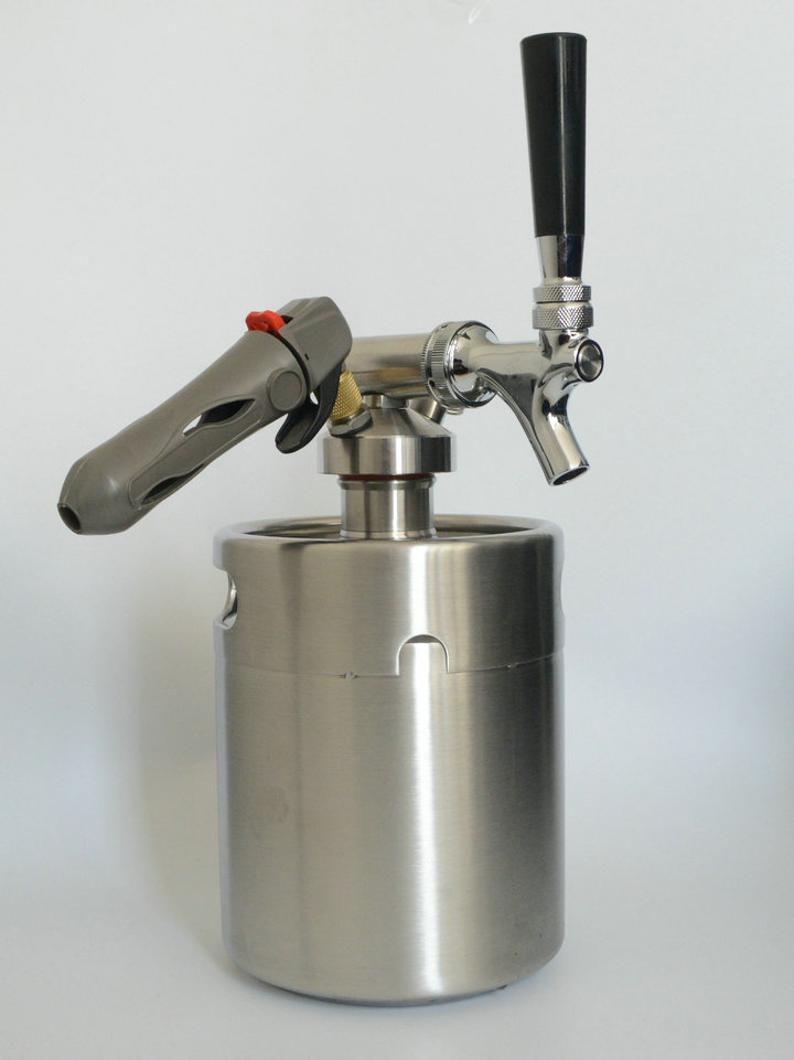 homebrew/growler spears with CO2 Injector Premium/2L Beer Spear With ...