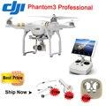 DJI Fantasma 3 Antecedência Padrão RTF RC Drone com Câmera Profissional 4 k 2.7 k Helicóptero Quadcopter GPS Sytem Rápido grátis