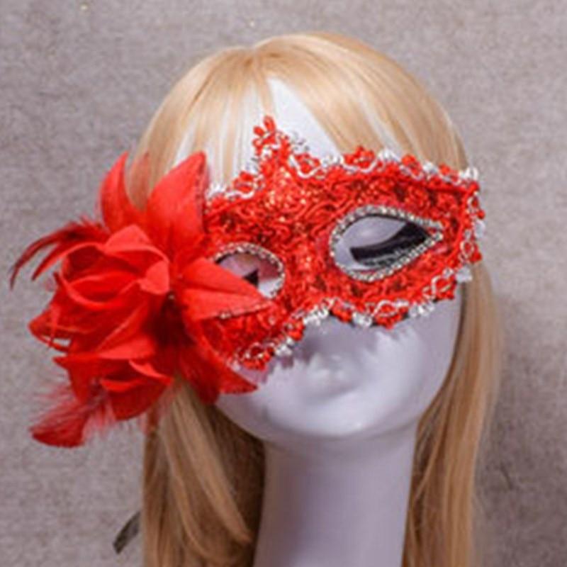 Fashion Lace Woman Rave party Bar Nightclub Venetian Mask Carnival Christmas Costume Masquerade Halloween masked ball Cosplay