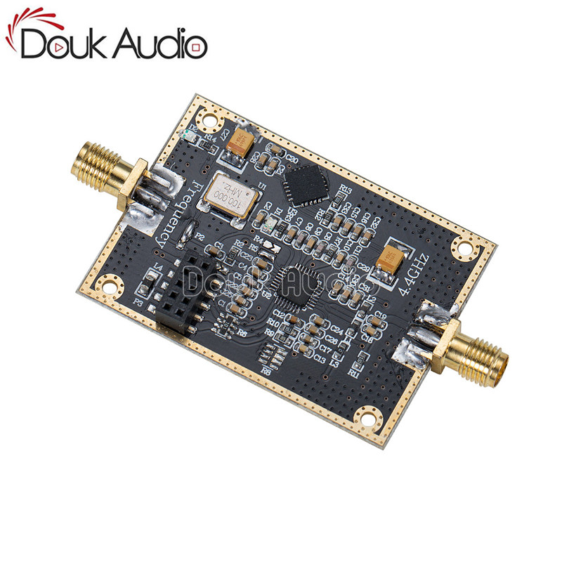 ADF4351 Module RF Signal Source PLL Phase-Locked Loop 35MHz-4.4GHz Frequency liming xiu nanometer frequency synthesis beyond the phase locked loop
