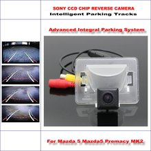 Dynamic Guidance Rear Camera For Mazda5 Premacy MK2 / Ford i-MAX 580 TV Lines HD 860 * 576 Pixels Parking Intelligentized liislee dynamic guidance rear camera for toyota ist urban cruiser 2007 2016 hd 860 pixels parking intelligentized