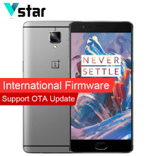 International Firmware Original Oneplus 3 Oxygen OS Marshmallow 5.5″ Snapdragon 820 Quad Core 6GB RAM Cell Phone LTE Cat 6
