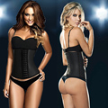 Hot latex waist trainers waist cincher fajas reductoras Slimming corset body Shapers women's reduce belts shapewear modeladoras
