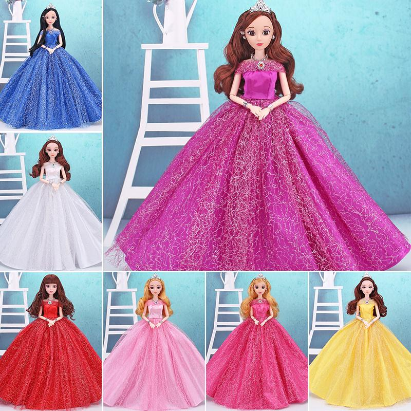 Doll Dress Doll Wedding Dress Doll Accessories Clothing Wedding Dress Gifts Accessories Girl Cute Doll Clothes Play House