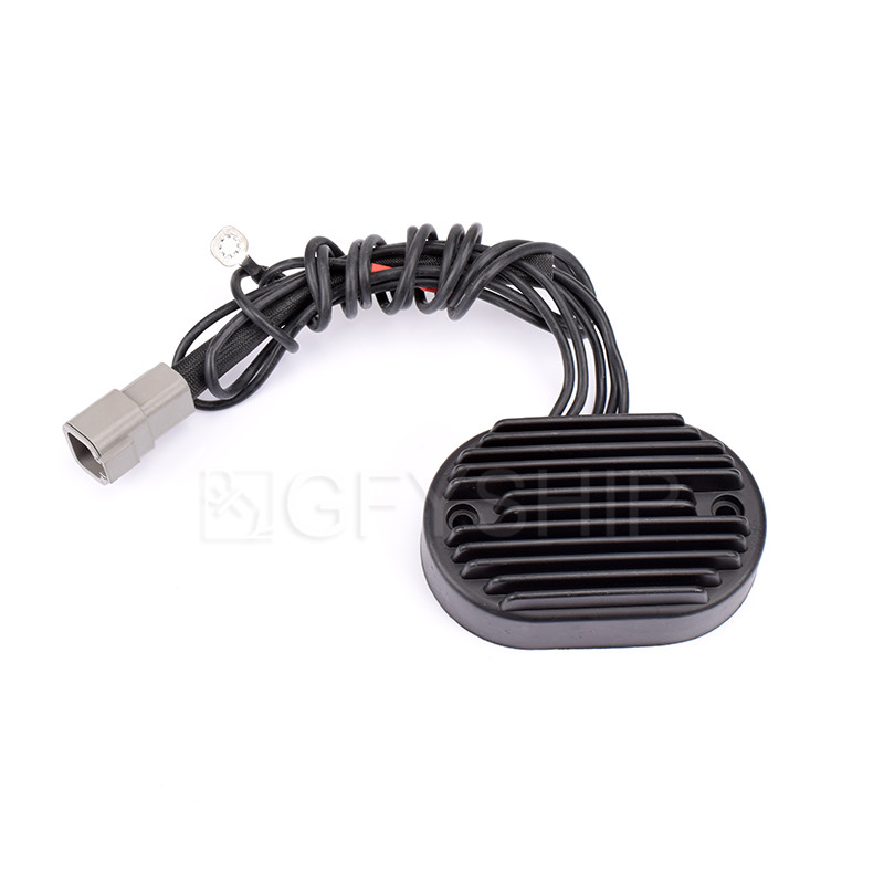 Motorcycle MOSFET Voltage Regulator Rectifier For Harley Dyna 2004 2005 Softail 2001 To 2006 With OEM Number 74610-01 74540-01