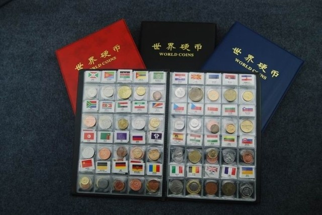 120 Countries Coins the most value for coin Set Fine Coin 100% Original Genuine with name and flag-in Non-currency Coins from Home & Garden    1