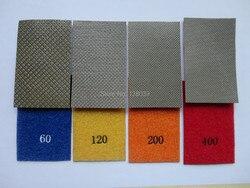 120*180 мм гальванические гибкие алмазные листы/шлифовальная бумага для мрамора, гранита, инженерного камня, стекла, керамики