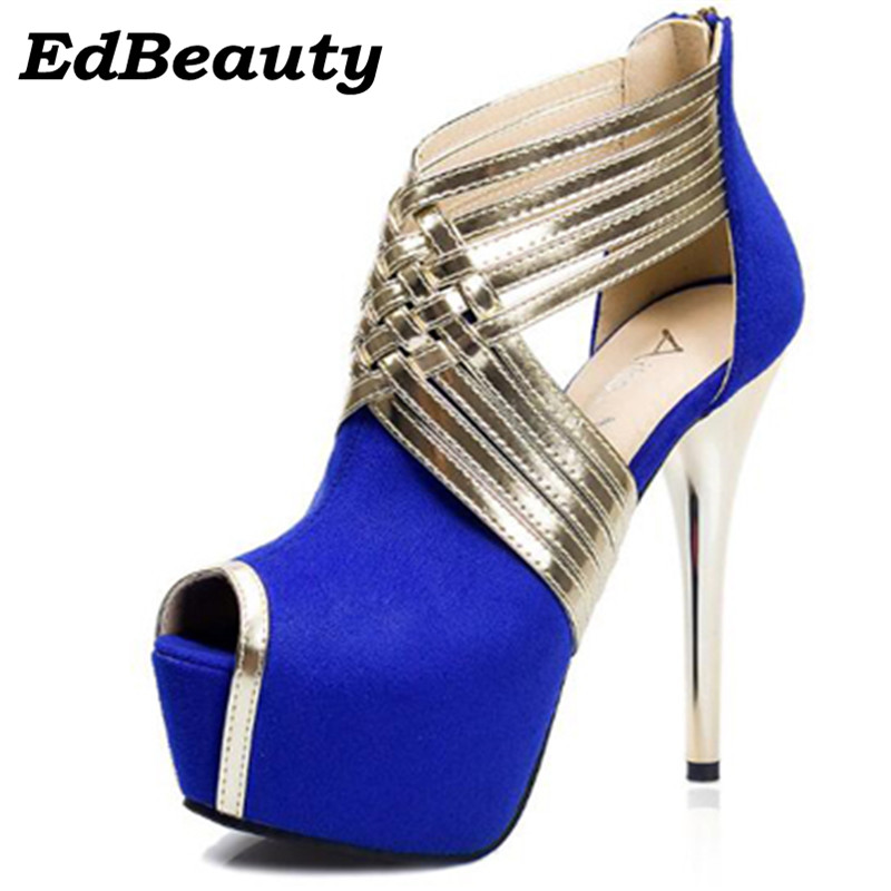 Popular Blue Strappy Heels-Buy Cheap Blue Strappy Heels lots from ...