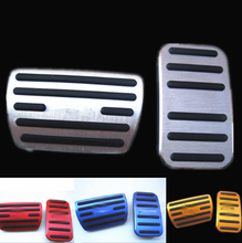 Non-slip Car Foot Pedal Pad Cover Fit Accelerator Gas Brake For 2016-2018 Honda Civic Driver Pedals replacement Kits for honda civic 10th 2016 2017 2018 aluminum car accelerator gas brake pedal non slip pedal plate pads cover accessories styling