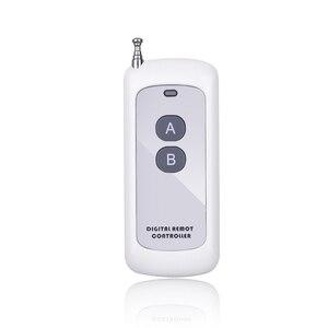 Image 3 - Kebidu 433mhz télécommande longue portée sans fil présentateur contrôleur RF Module 2/4 touches télécommande pour porte de porte