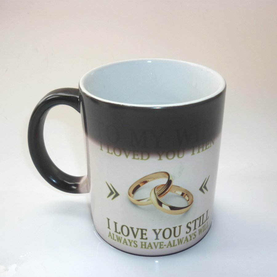 Best Gift For My Wife Part - 38: Online Shop To My Wife Gift, Wedding Anniversary Gift ,coffee Mug Magic  Color Changing Mug Best Gift For Your Wife | Aliexpress Mobile