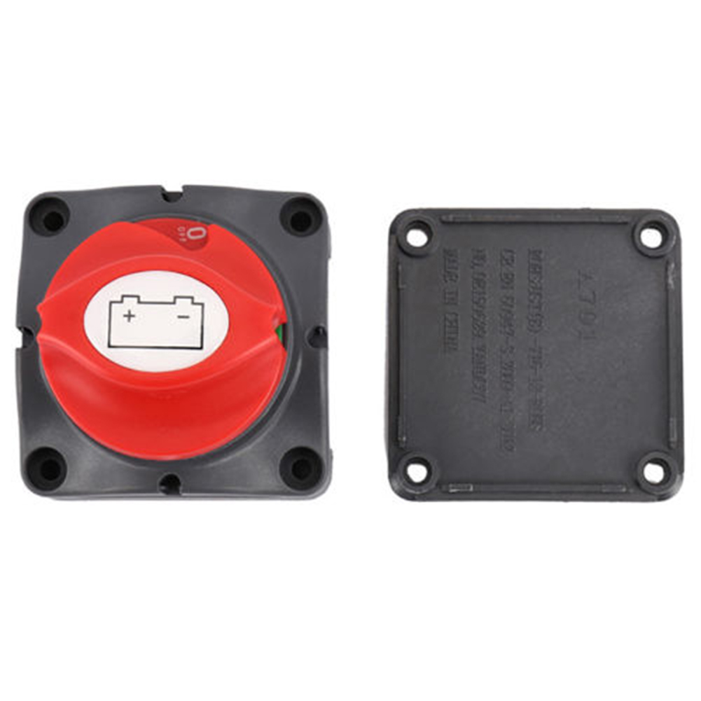 Battery Master Switch Dual System Isolator 2 Positions for Boat Marine Caravan