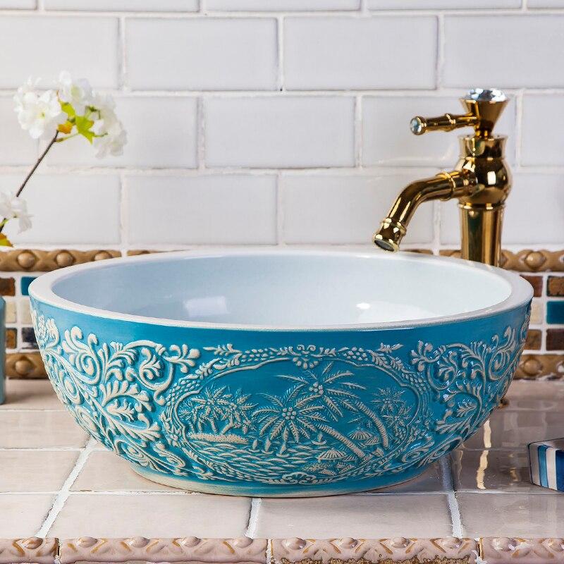 Basin Sinks Counter Top Wash