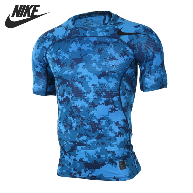 Original New Arrival  NIKE AS M NP HPRCL TOP SS COMP D CA Men's T-shirts short sleeve Sportswear